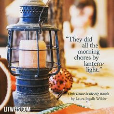 Probably something none of us, nor our kids, will ever be able to say. We found this old lantern in our barn when we moved to the farm in the early 70s, and it's shown up in a few of our workshops. So helpful for kids to get their hands and eyes on objects that are no longer part of our lives but such an important part of our books and our history! By the way, you can have free access to this kit on our website!