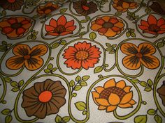 vintage synthetic fabric