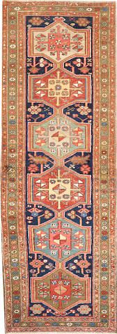 Heriz rug  size approximately 3ft. 2in. x 8ft. 9in.