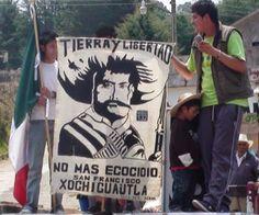 #XochicuautlaResiste: Campamento de paz y Digna Resistencia. #XochicuautlaNoEstáSolo