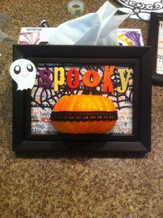 Halloween 5x7 frame
