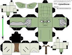 Cubee - Yoda by CyberDrone on deviantART