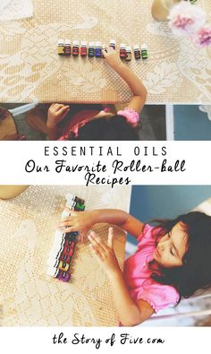 Essential Oils for Pregnancy & Kids. Our Favorite Roller-ball Recipes. @mdlove2005