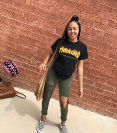 Fashion outfits, fashion и everyday outfits. Boujee Outfits, Dope Outfits, Outfits For Teens, Casual Outfits, Fashion Outfits, School Outfits, Fasion, Hot Summer Outfits, Vans Outfit