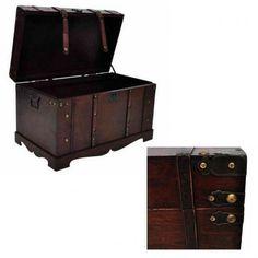 Retro Furniture, Home Furniture, Treasure Chest, Storage Chest, Organization, Box, Vintage, Home Decor, Organisation