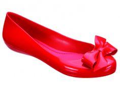 MEL Ballerina Strawberry Red