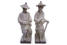 Chinoiserie Figures, Pair on OneKingsLane.com $195/$115 $25