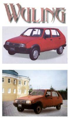 1989 Wuling the bootleg Citroën Visa