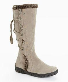 This Stone Noelas Wide-Calf Boot is perfect! #zulilyfinds