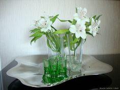 Iittala Aalto -asetelma - Black + White = Grey | Lily.fi White flowers / Iittala Aalto