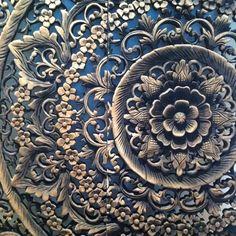 DETAILS & PARTICULARS Wood Carving.