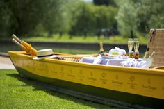 Hah! There you go! Picnics by Veuve Clicquot