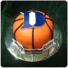 Duke theme cake.