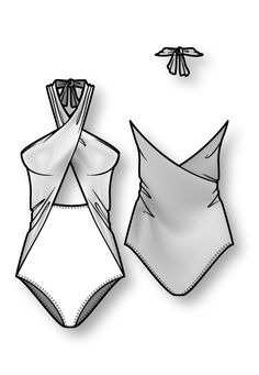 Flat Drawings, Flat Sketches, Technical Drawings, Dress Sketches, Fashion Design Portfolio, Fashion Design Sketches, Croquis Fashion, Drawing Fashion, Ropa Interior Boxers
