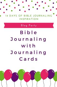 Bible Journaling wit