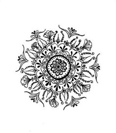 I'm not judging or being rude but do you know what a mandala represents? You should check it out rather than me explain it. Every one has a different mandala that means something to them:) Future Tattoos, Love Tattoos, Beautiful Tattoos, New Tattoos, Hand Tattoos, Mandala Art, Mandalas Painting, Mandalas Drawing, Flower Mandala