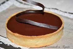 Tarte au caramel beurre salé & chocolat