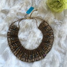 Gorgeous necklace Natasha Gorgeous beaded necklace. NWT. Natasha Jewelry Necklaces