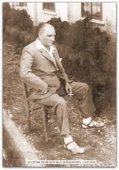 ATATÜRK YEŞİLKÖY'DE. 14.07.1936