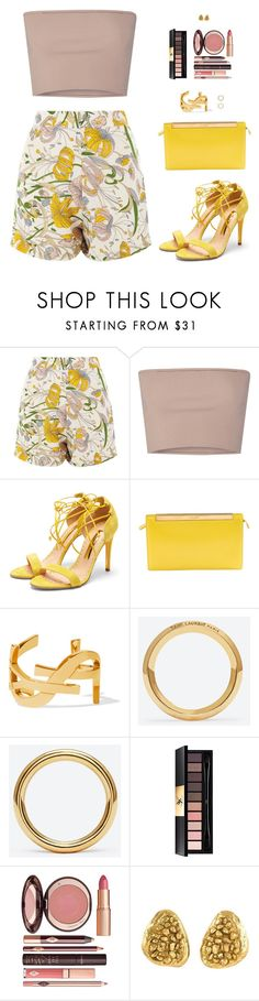 """""""Sin título #4721"""" by mdmsb on Polyvore featuring moda, Glamorous, Calvin Klein Collection, Rupert Sanderson, Yves Saint Laurent y Charlotte Tilbury"""