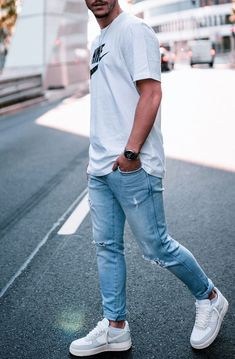 Formal Casual, Men Casual, Nike Air Force 1 Outfit, Latest Summer Fashion, Dope Outfits For Guys, Outfits Hombre, Business Casual Men, Nike Outfits, Mens Clothing Styles