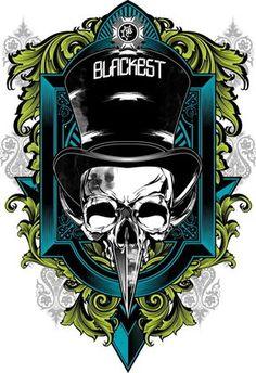 vec ils by Helmi Bog Skull Design, Tee Design, Print Design, Logo Design, Iphone Background Images, Sword Design, Skull And Bones, Art Logo, Metal Signs