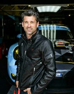 Le Mans 2015 Patrick Dempsey ~I love fast cars too! My Romantic Heart ~sandra…