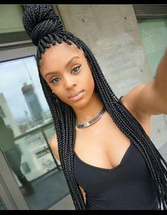 Box braids Gorgeous face