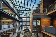 ZGF Architects have designed the Federal Centre South Building 1202 located in Seattle, Washington for the U.S. Army Corps of Engineers.