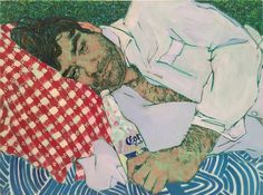 Artist: Hope Gangloff, Title: Study for Wigmore, 2015 - click for larger image