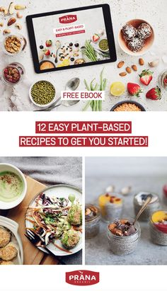 FREE VEGAN RECIPE EBOOK: Whether you're vegetarian, vegan, omnivore, or just looking to eat more plants and less processed foods, plant-based recipes are so much easier than you thought - and also totally delicious! This easy recipes e-book is all the proof you need. Simply subscribe to our newsletter to download it and let yourself be inspired! #vegan #plantbased #recipes