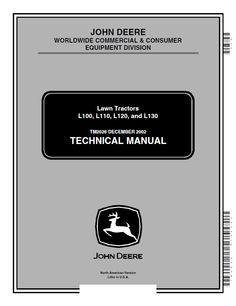 John deere lx172 lx173 lx176 lx178 lx186 lx188 lawn tractors repair manual john deere l100 l110 l120 l130 lawn tractors technical manual pdf tm2026 fandeluxe Images