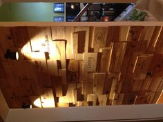 This 3 hr project added the character of old world Tuscany to butlers pantry. Find wine crates and nail gun to wall. That easy!!!