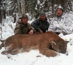 """These photos of a massive mountain lion have circulated the web for months over email, forums, and social media. Rumors suggested it was killed in Wyoming, Montana, and Idaho and who knows how many hunters have claimed by now that it was taken by a """"buddy of a friend."""""""