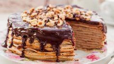 Французский блинный торт