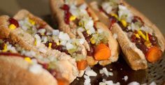 Carrot Dogs - Nutrition Studies Plant-Based Recipes