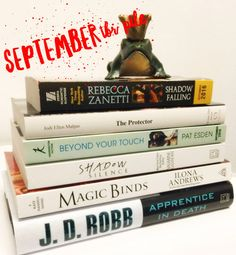 Looking for a new Romance Novel to read over the long weekend? Check out H&H's list of new releases for September!