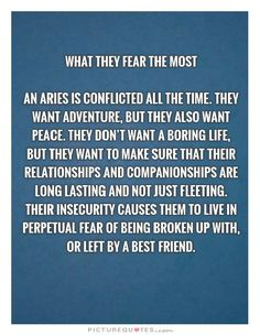 Lol it is conflicting, i wouldn't say I have fear... I would say I have knowledge that people just can't give me what I can give them and I refuse to settle for just anything. This is why I stay alone