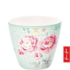 Greengate latte cup Lulu mint