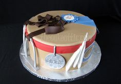 A cake of favorite things...horse riding, dog and Catawba College. By thecakeattic.com in Salisbury, NC www.facebook.com/thecakeattic