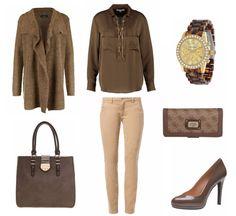 Brauntöne #Bürooutfit #dresslove #damenoutfit auf dresslove.de