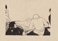 獺祭書屋 - 小村雪岱画譜 縫合手術「旗本伝法」土師清二 作 小村雪岱 挿絵 1937 Vintage Japanese, Japanese Art, Japan Painting, Woodblock Print, Asian Art, Illustration Art, Illustrations, Comic Art, Drawings