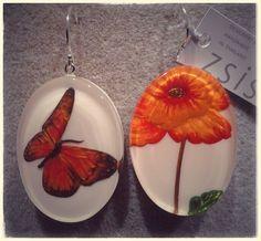 spring power collane, bracciali, anelli e orecchini ZSISKA collezione Butterfly