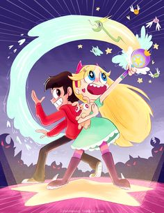 """lynnvwang: """"I finally sat down to do some fanart of Star Vs. the Forces of Evil! It was a blast to work on this show!! It was a great learning experience and I got to know some great people. Congrats to the crew and daronnefcy for a season 2! I hope..."""