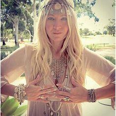Bohemian Gypsy Goddess Necklace