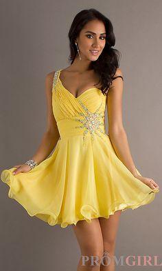 vestido de damas de honor amarillo - Buscar con Google