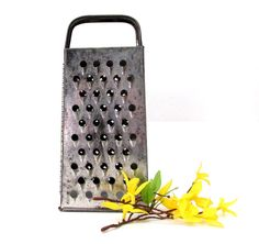 Vintage BROMCO Cheese Grater.  Four sided by CreekLifeTreasures