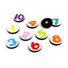 set 10 vrolijke magneten...bij kitschenzo.com