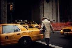 Photo by Jurgen Burgin, New York-Taxis. Fine Art Photography, Landscape Photography, Study German, Berlin, Elliott Erwitt, New York, Street Photographers, Built Environment, Nyc