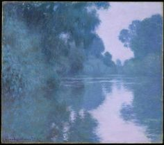 Claude Monet, Morning on the Seine, near Giverny, 1897.